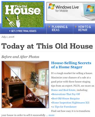 Debra Gould House Selling Secrets in This Old House