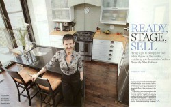 Staging Diva Debra Gould in 8 page feature in Post Homes Magazine