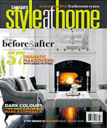 staging diva featured in style at home magazine. Black Bedroom Furniture Sets. Home Design Ideas