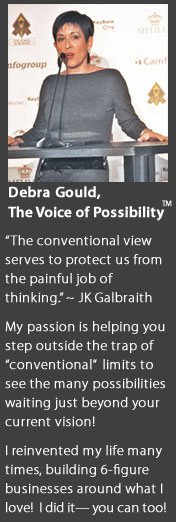 Debra Gould Motivational Speaker